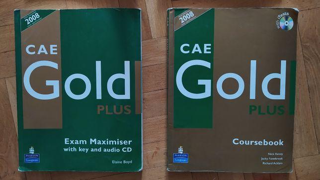 CAE Gold Coursebook i Exam Maximiser używane podręczniki
