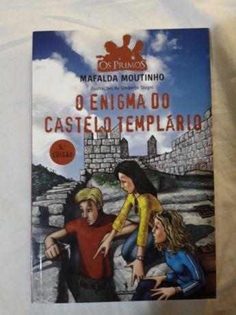 """""""O enigma do castelo templário"""" de Mafalda Moutinho"""