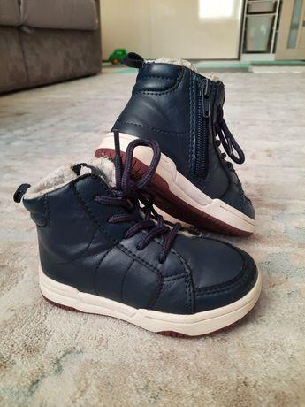 Ботинки хайтопы zara НМ ecco geox демисезонные 23 размер 14,5 см