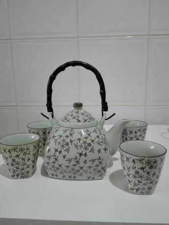 Serviço de chá