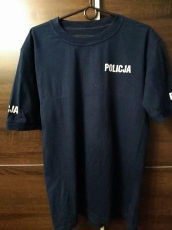 Koszulka Policja z krótkim rękawem t-shirt. 100/185/88.