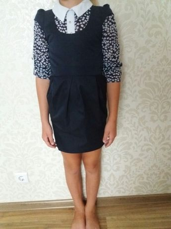 Сарафан шкільна форма блузка