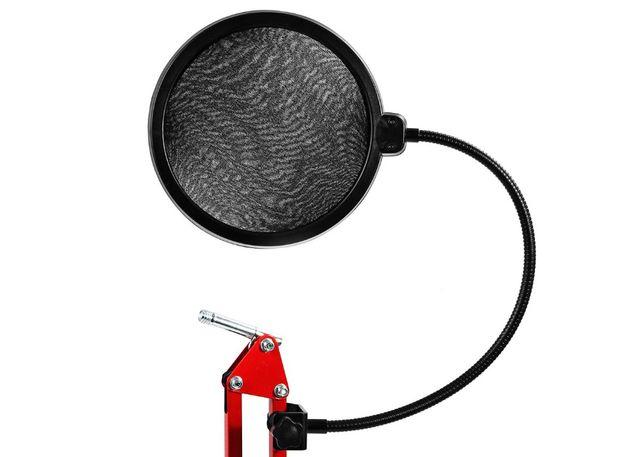 ПОП-фильтр фильтр для микрофона (двухслойный, ПОП-фільтр