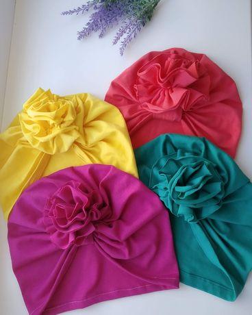 Летняя шапка чалма тюрбан для малышей