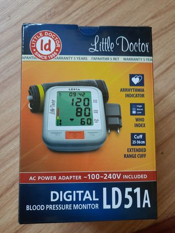 Тонометр автоматический Little Doctor LD51A (5 лет гарантии)