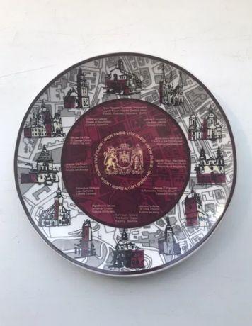 Сувенирная тарелка Львов
