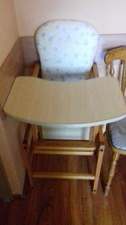 siedzisko do karmienia dla dziecka +stolik z krzesełkiem