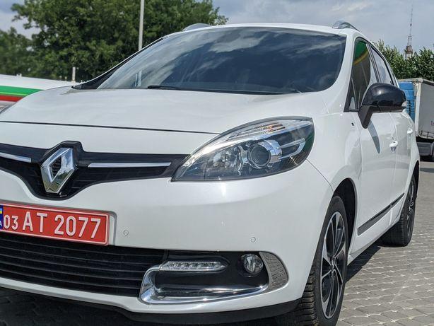 Минивен Renault GRAND Scenic 1,6Dci BOSE 7 мест!!