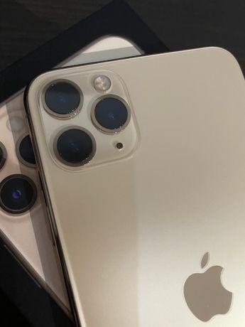 Apple iPhone 11 Pro Max 256GB złoty optycznie stan idealny +2 etui