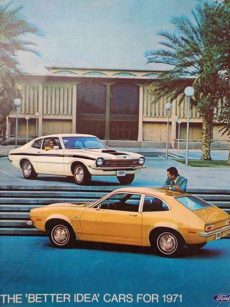 Ford lata '70 prospekt,  gazetka reklamowa,  broszura