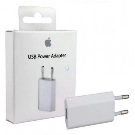 ОРИГИНАЛ USB Адаптер Apple зарядка блок кубик iphone,ipad