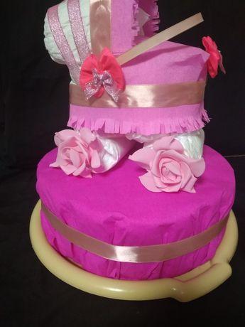 Торт с памперсов(на заказ)