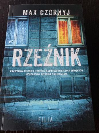 Ksiazka - Max Czornyj - Rzeźnik - Filia - bdb