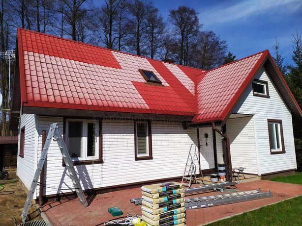 Profesjonalne malowanie i mycie dachów oraz elewacji zapisy 2020!!!