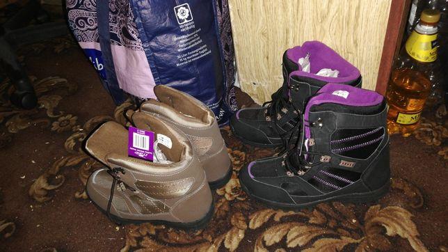 Зимние ботинки, Лыжные ботинки, ботинки для сноуборда