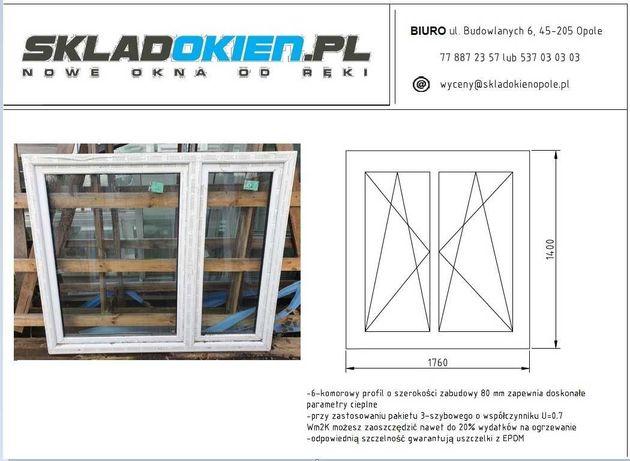 33. Okno dwuskrzydłowe OvloClasic 1760x1400