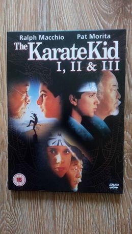 Karate Kid I, II, III DVD
