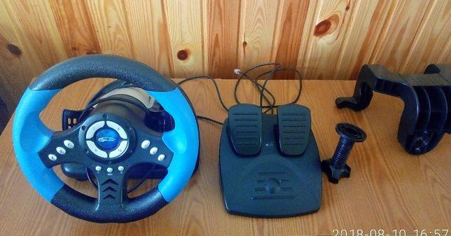 Дротове кермо Gemix WFR-2 PC Black/Blue