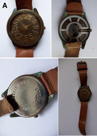 Oldskulowe zegarki elektroniczne na rękę dla kolekcjonera