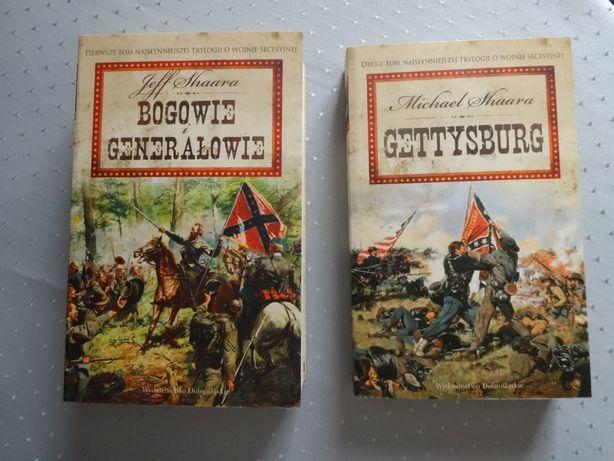 Shaara Jeff i Michael - Bogowie i generałowie + Gettysburg _Secesyjna