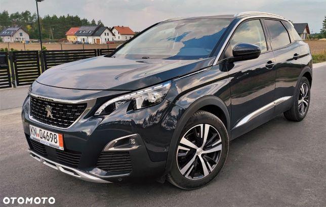 Peugeot 3008 Allure*Automat 8biegów*F1*Full LED*I Cokpit*Navi*DVD*Kamera 360*Piękny