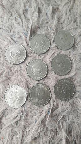 Monety 20zł z 1975,1978,1979