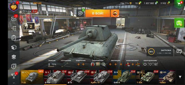 Продам аккаунт в World of Tanks Blitz