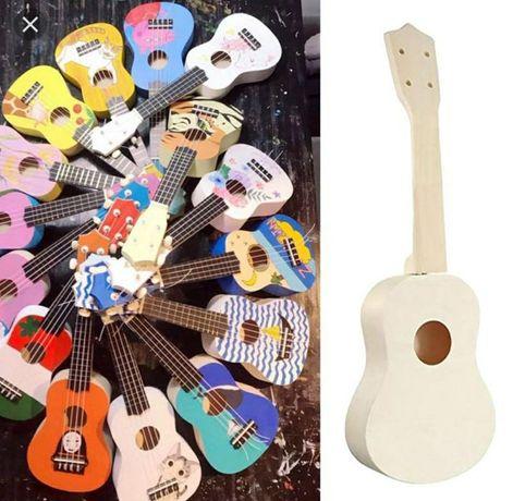АКЦИЯ Набор конструктор Укулеле Сделай собери сам DIY гавайская гитара