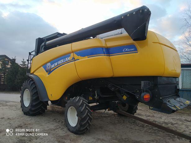 New Holland CX6090  heder    kombajn zbożowy