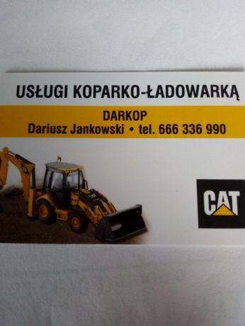 Usługi koparko ładowarką Stęszew Dopiewo Buk Opalenica Komorniki inne.