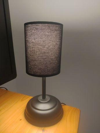 Lampka nocna, lampa stołowa, czarna, matowa, dostępne 2 sztuki