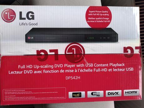 Odtwarzacz DVD LG DP542H HDMI USB