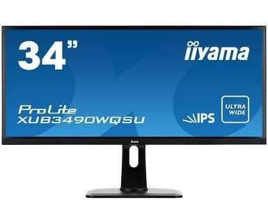 """Monitor 34 cale iiyama XUB3490WQSU-B1 34"""" IPS/PLS NOWY"""