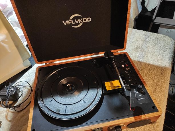 Gramofon retro Viflykoo
