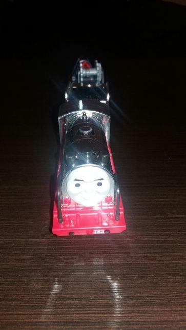 Tomek i przyjaciele-lokomotywa trackmaster Merlin
