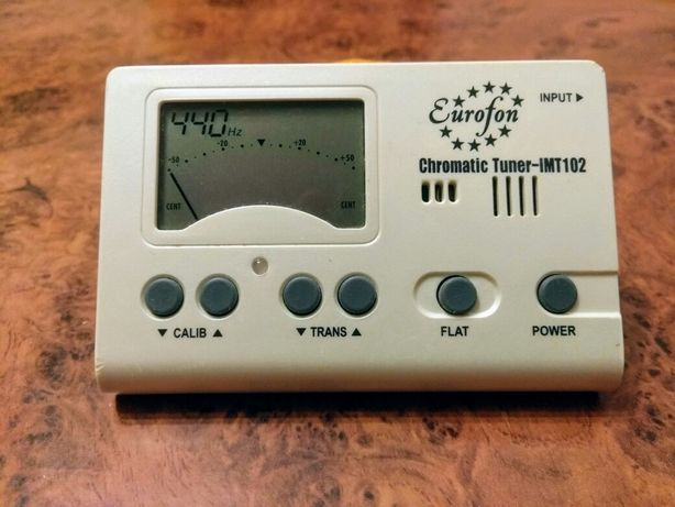 Хроматичний тюнер IMT-102 (Хроматический тюнер цифровой  )