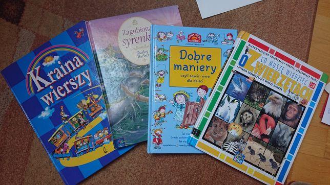 Książki 4 różne gatunki