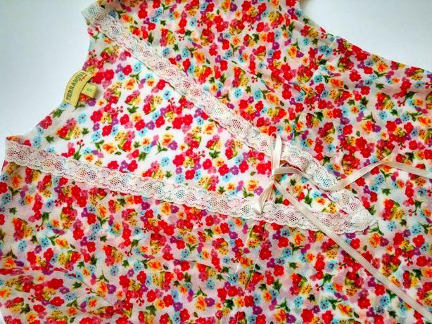 Яркое летнее платье размер XS (S)