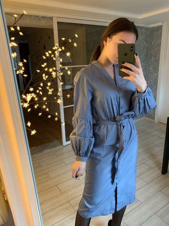 Плаття міді, 100% котон / платье длины миди, 100% коттон
