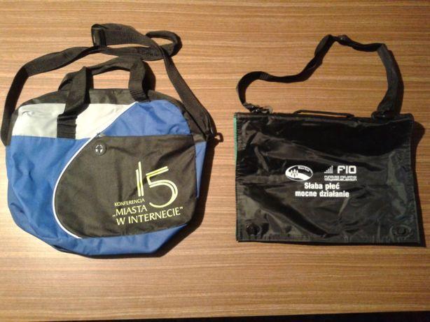 dwie nowe torby nie uzywane na ramienno-reczne tania wysylka