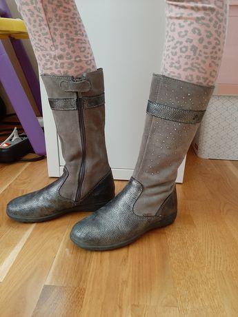 Buty, kozaki dla dziewczynki, rozmiar 31