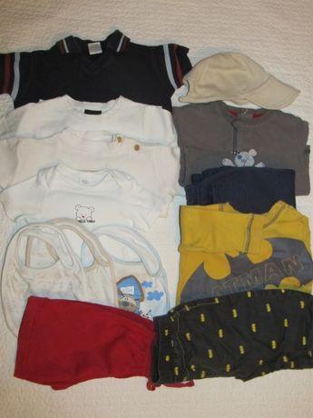 Пакет одежды на мальчика 3-6 месяцев 13 вещей