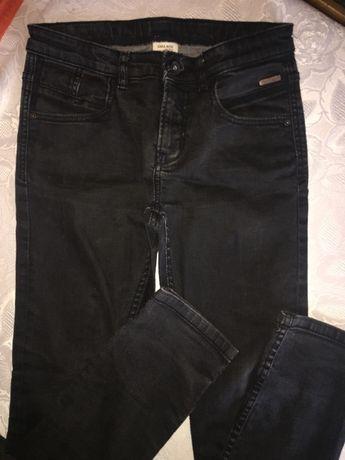 Czarne spodnie chłopięce 152roz(11-12lat)