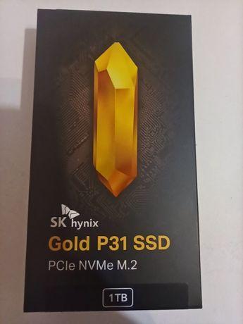 SK hynix Gold P31 1TB PCIe NVMe Gen3 M.2 2280 SSD. Новый.