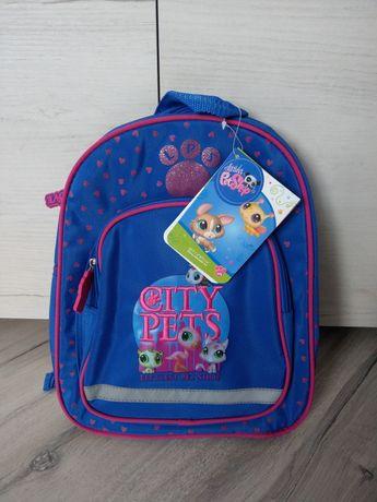 Nowy plecak plecaczek do przedszkola Littlest Pet Shop Starpak