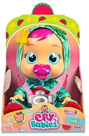 Кукла плакса Cry Babies MEL Тутти Фрутти Пупс МЭЛ Арбузик Toys 93805