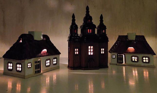 Хороший подарунок. Будиночок свічник. Аромалампа