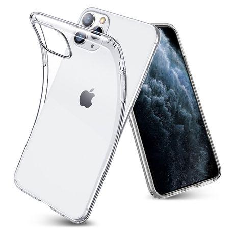 Чехол тонкий прозрачный для айфона iPhone 11/11 Pro/11 Pro Max