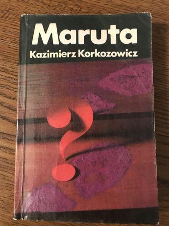 """Książka """"Maruta"""""""