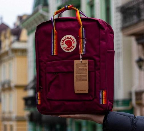 Дропшиппінг рюкзак канкен Kanken Rainbow Выгрузка пром